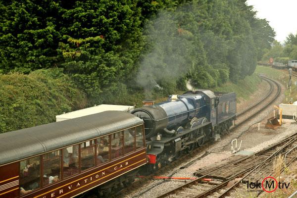 King Edward II 6023 nach Paignton (08/2018)