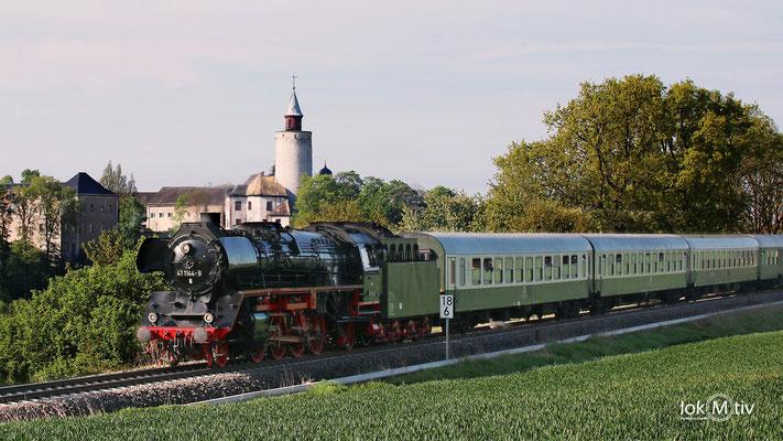 41 1144-9 vor Burg Posterstein 05/2017