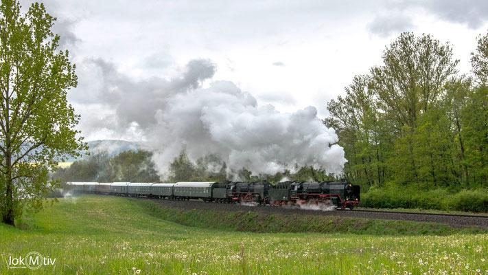 01 2066-7 und 01 2118-6 in Unterrohn (05/2019)