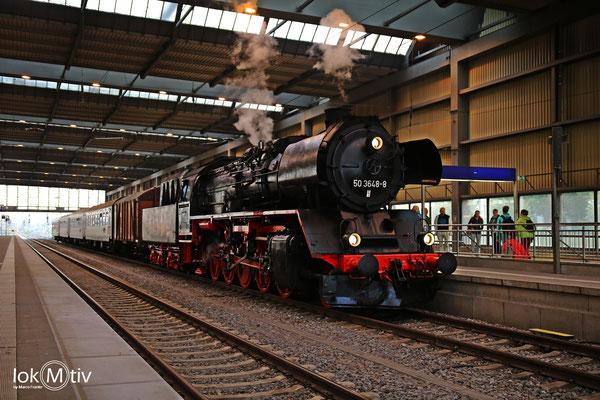 Zugbereitstellung in Chemnitz Hbf