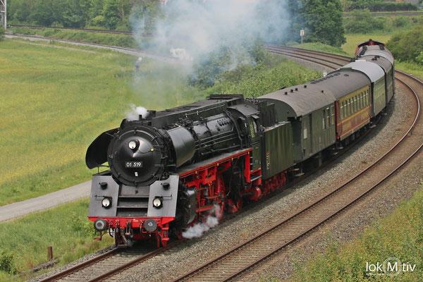 01 519 bei Untersteinach auf dem Weg nach Neuenmarkt 05/2018