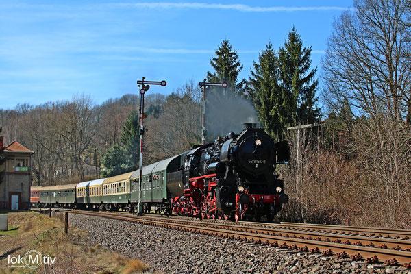 52 8154-8 in Miltitz nach Meißen (04/2018)