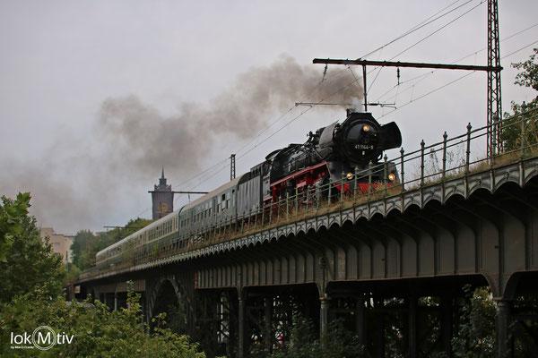 41 1144-9 auf der Beckerbrücke in Chemnitz 09/2018