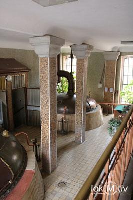 Im Sudhaus der Brauerei Chodovar