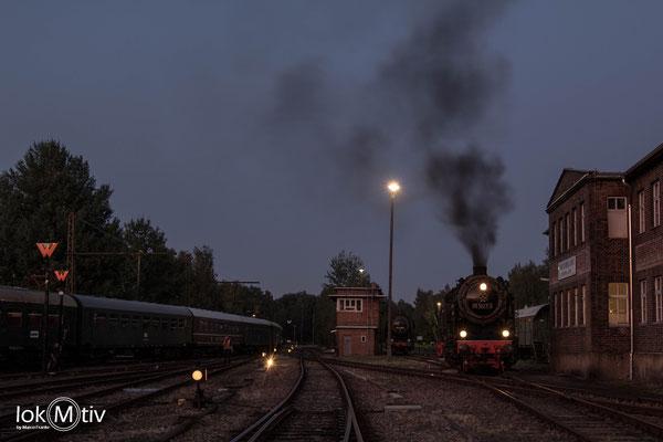 95 1027-1 vor der Lokleitung im SEM (08/2019)