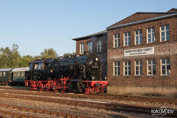 Zu Gast im Sächsischen Eisenbahnmuseum Chemnitz (08/2019)