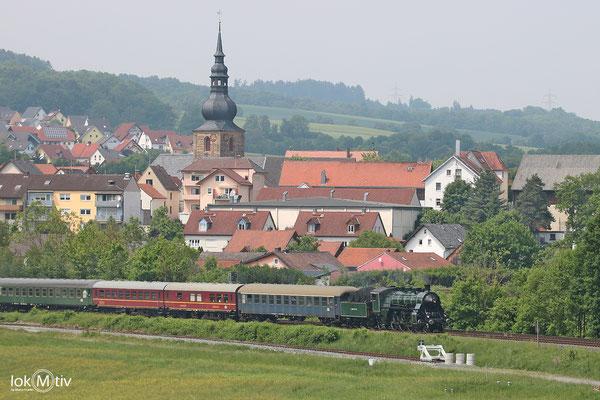 bay. S3/6 3763 in Untersteinach auf dem Weg nach Neuenmarkt