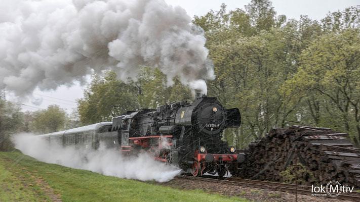 52 8154-8 auf der Erzgebirgischen Aussichtsbahn (05/2018)