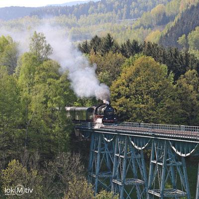Auffahrt auf den Viadukt