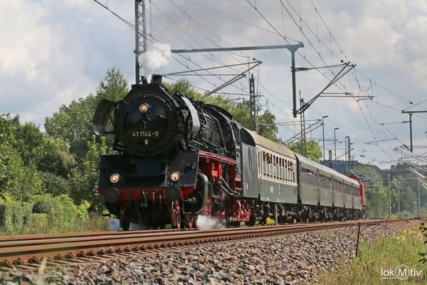 41 1144-9 in Flöha nach Chemnitz 08/2017