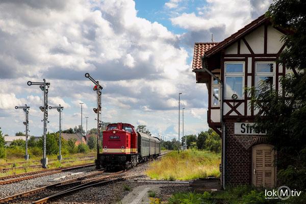 Ausfahrt Straußfurt gen Kleinfurra