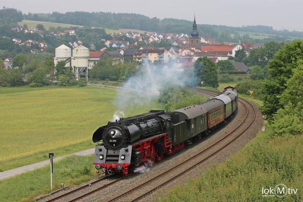 01 519 auf dem Weg nach Neuenmarkt ins DDM 05/2018