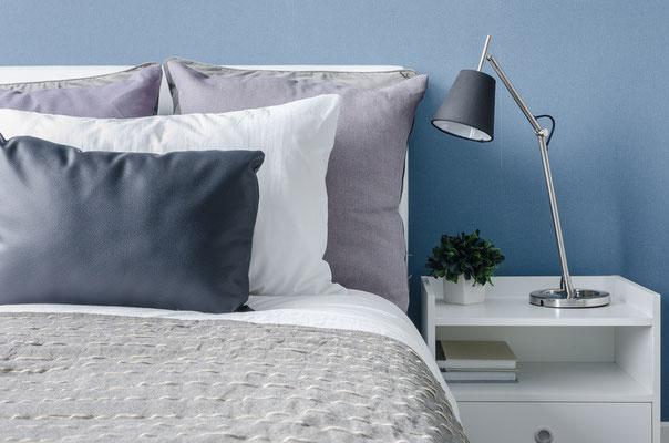 Viel Zeit für Romantik im neuen Schlafzimmer. Foto: © 290712/Fotolia.com