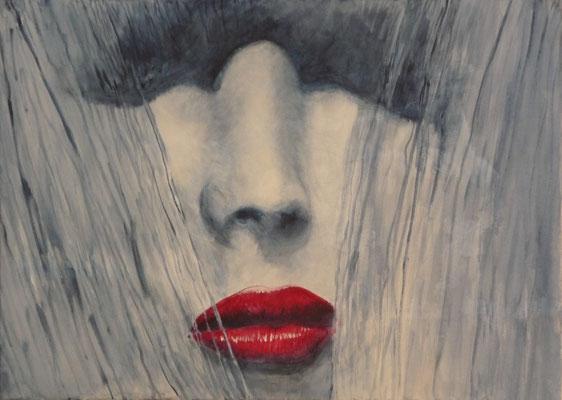 geküsste Lippen