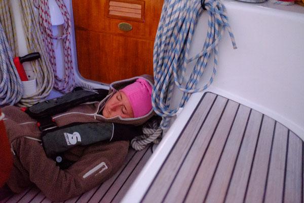 Seefahrt macht müde