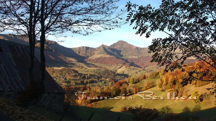 Puy Mary, Vallée de Mandaille