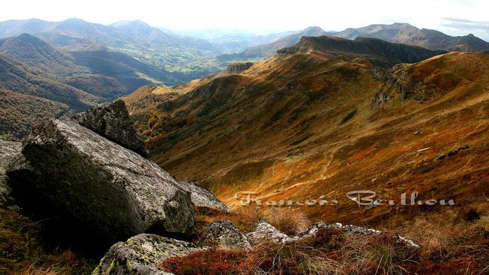 Vallée de Mandailles vue du Peyre Arse