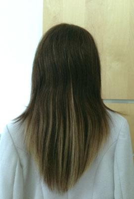 Haarverlängerung Microring Extensions