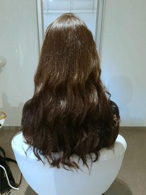 Haarverlängerung mit Nanoring Extensions