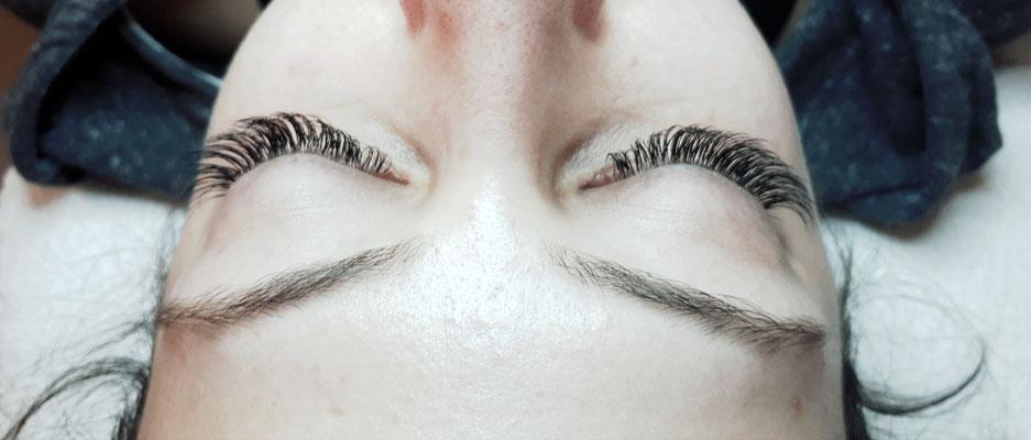 Wimpernverlängerung - Ayana hair & more Binningen