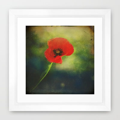 Framed fine art print on natural white, matte, ultra smooth, 100% cotton rag, acid and lignin free archival paper using an advanced digital dry ink method to ensure vibrant image quality.
