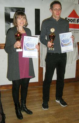 Gesamtsieger: Simone Ritter und Dieter Zielinski