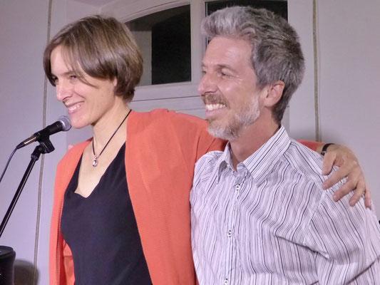 Simone Saitenfeder und Andy Werner