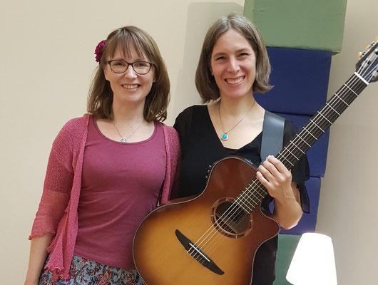 Anja Koch und Simone Saitenfeder