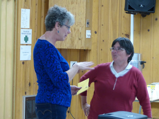 Remerciements: Claudette Roberge et Mme. Suzanne Hardy.