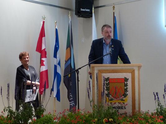 Mot de bienvenue de monsieur Michel Blackburn, maire de Cap-Santé.