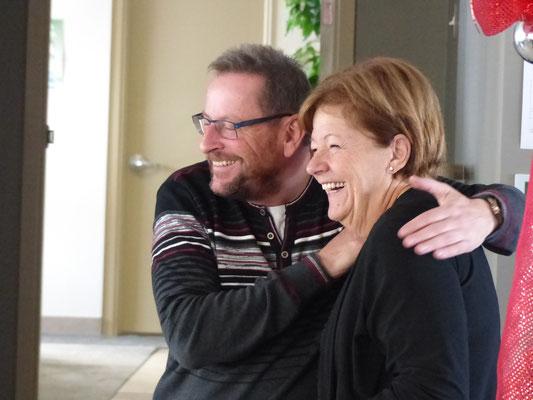 M. Patrice Germain et Mme. Johane Boucher.