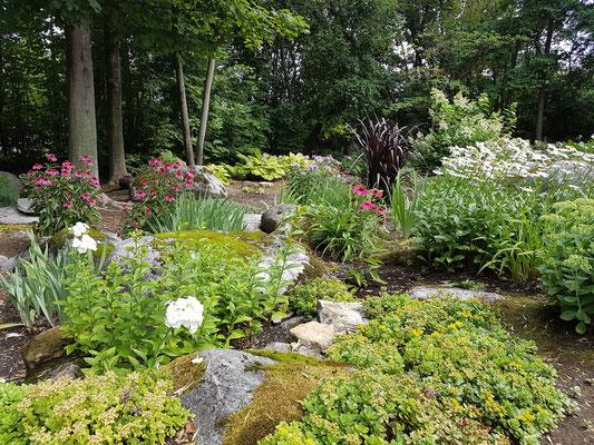 Concours ''Jardins privés 2018'' : Premier choix du public, Mme. Suzie Gagné de Deschambault-Grondines.
