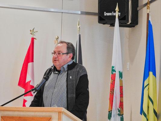 M. Rolland Hamel, président de la SHEP.