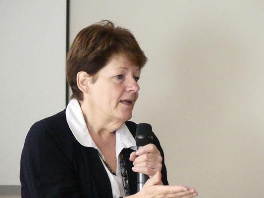 Madame Johane Boucher, conférencière
