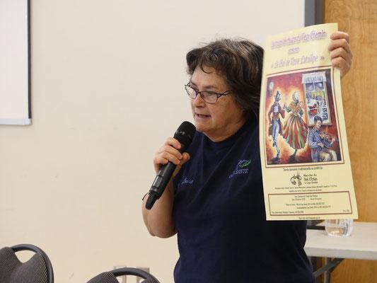 Madame Louise Sainte-Marie, horticultrice pour la ville de Cap-Santé