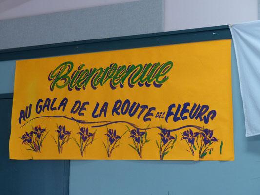 Gala de la route des fleurs du 24 septembre 2016.
