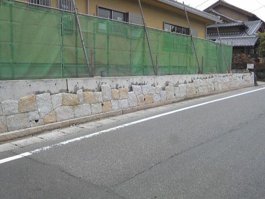 乱積み石工事