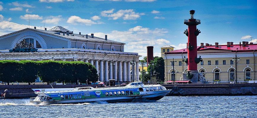 Tragflächenboot Börse Leuchtturm