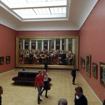 Государственный Русский музей, зал И.Е.Репина
