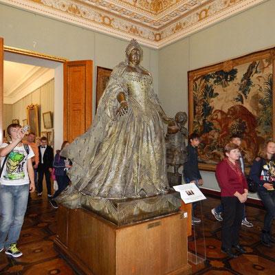 Русский музей, статуя Анны Иоановны К.Б.Растрелли