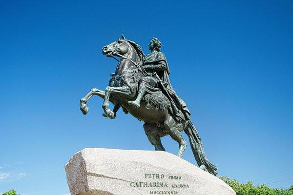 Reiterfigur Peter der Große