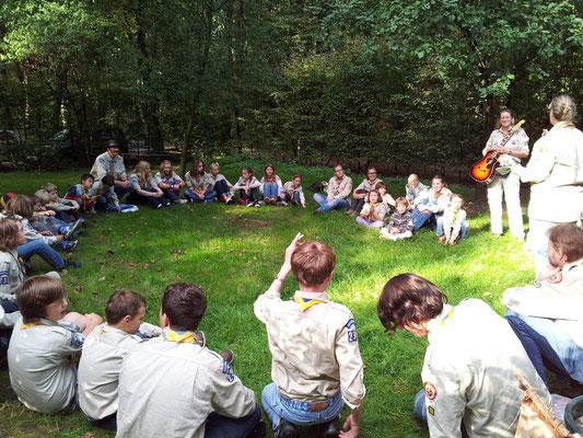 Stammtreff an der Waldhütte