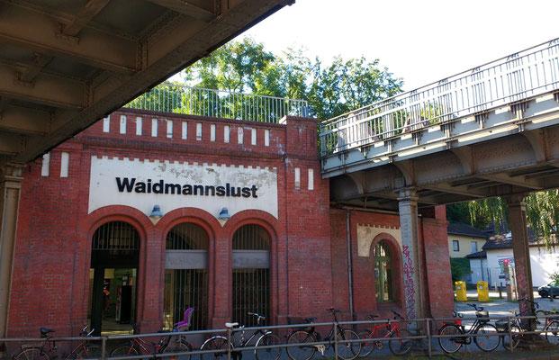 Pension Hubertus Berlin S-Bahnhof Waidmannslust