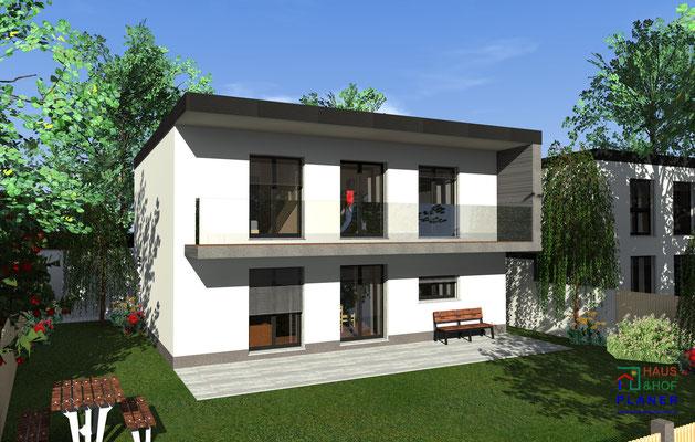 Einfamilienhaus als muster projekt haus und hof planer for Muster einfamilienhaus
