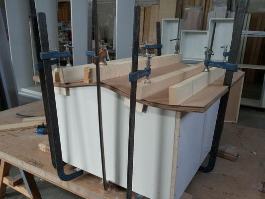 Curvatura fogli di legno