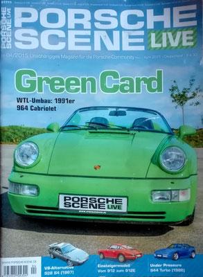 Porsche Scene Titelblatt