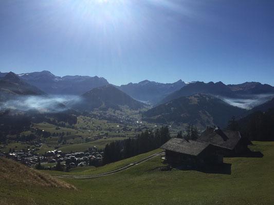 Am Rellerli oberhalb Schönried / Spätherbst