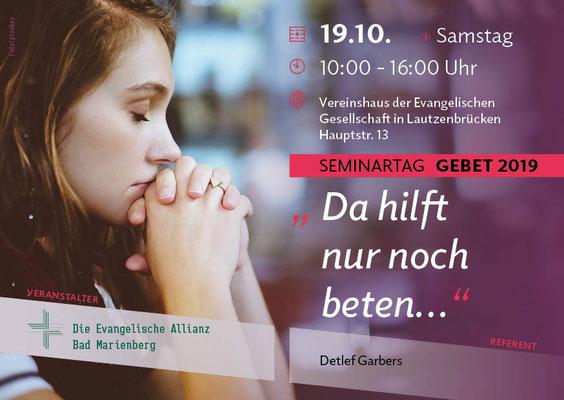 Ev. Allianz Bad Marienberg | flyer design