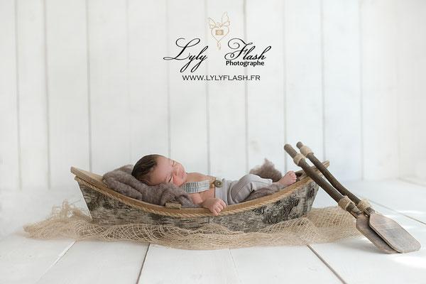 photographe marseille pour bébé et nouveau-né dans bateau