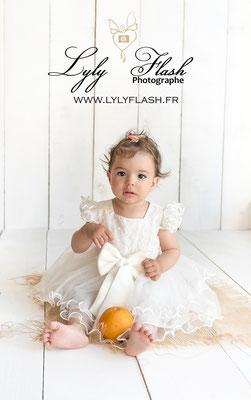 portrait bébé en studio dans le var